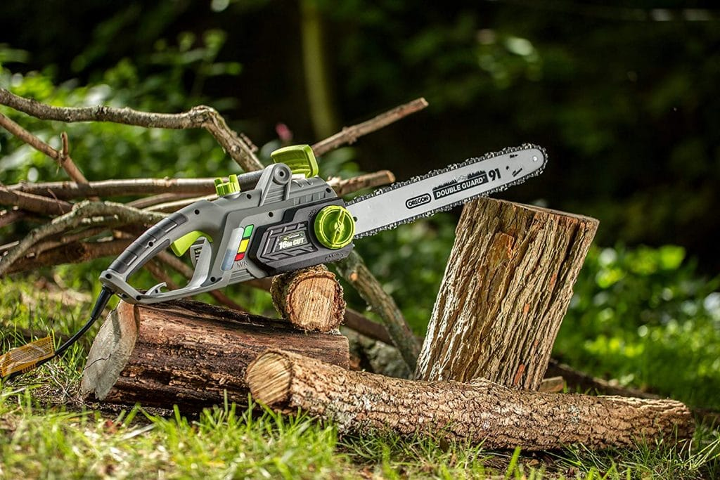Earthwise cs33016 corded electric chainsaw - photo 4