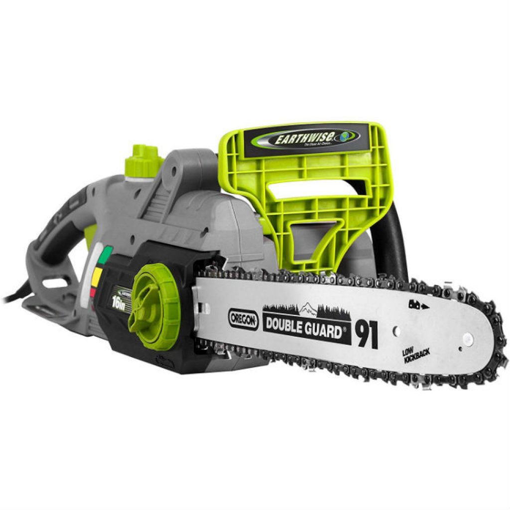 Earthwise cs33016 corded electric chainsaw - photo 2