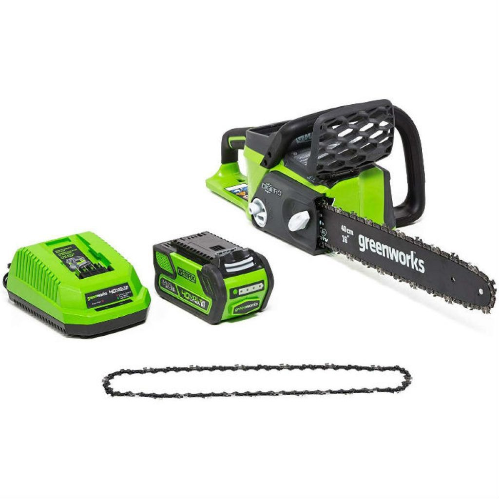 Greenworks 16 inch cordless chainsaw - photo 1