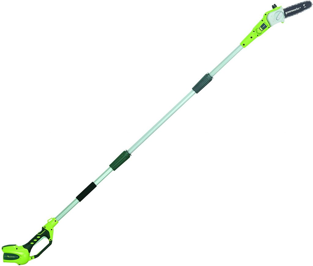 Greenworks cordless pole saw - photo 1