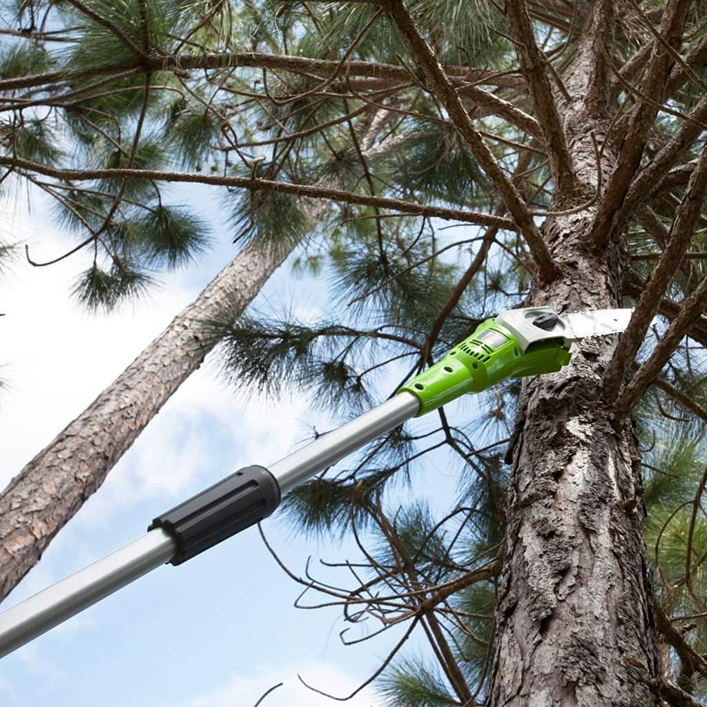 Greenworks cordless pole saw - photo 3