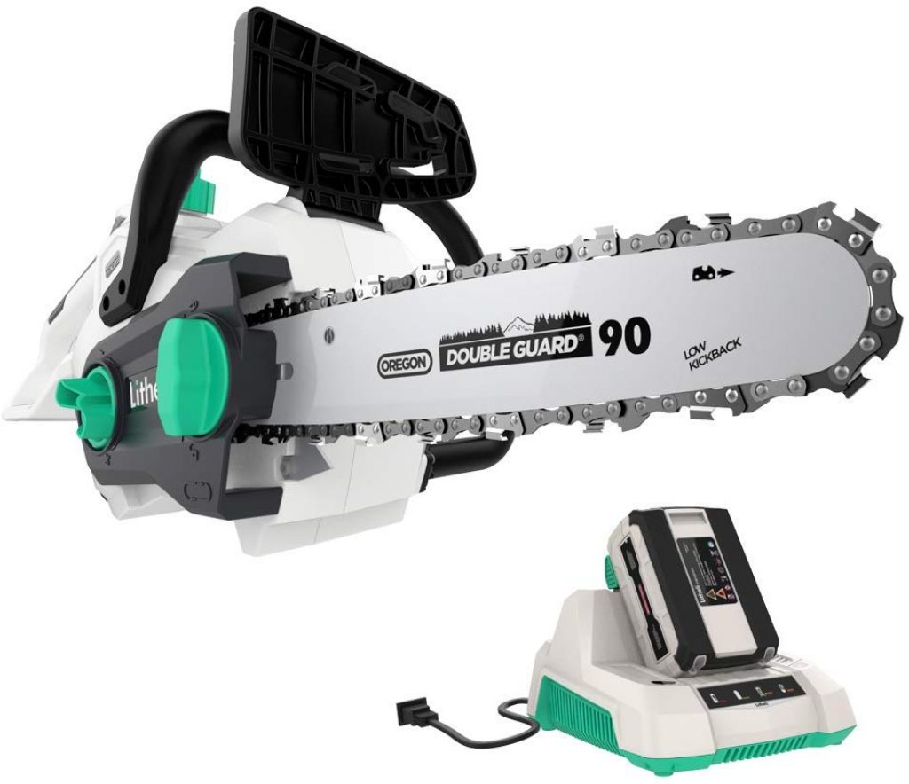 LITHELI cordless chainsaw - photo 1