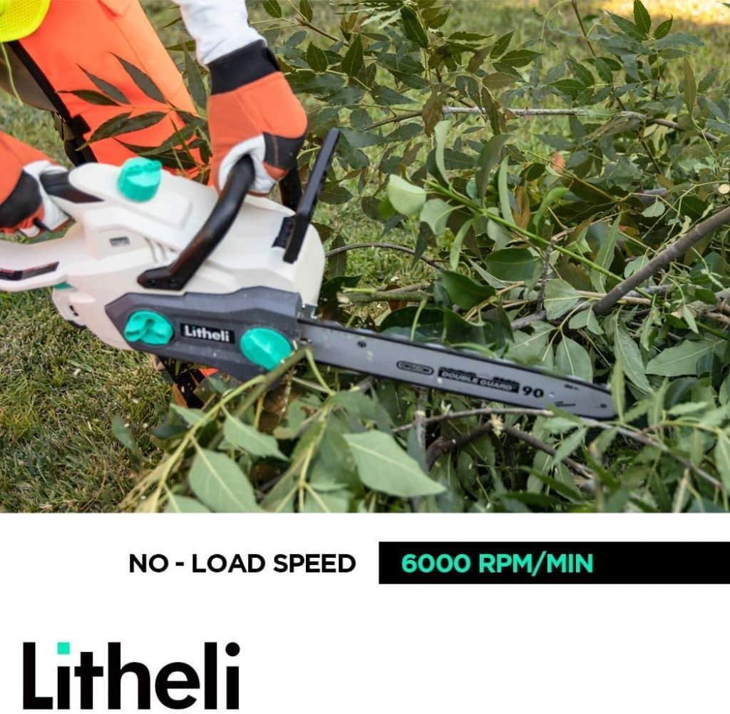 LITHELI cordless chainsaw - photo 3