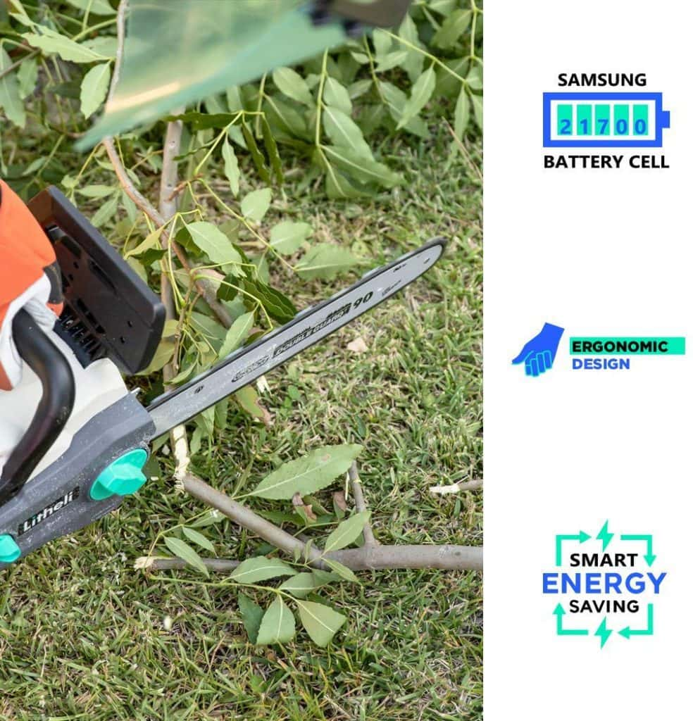 LITHELI cordless chainsaw - photo 2
