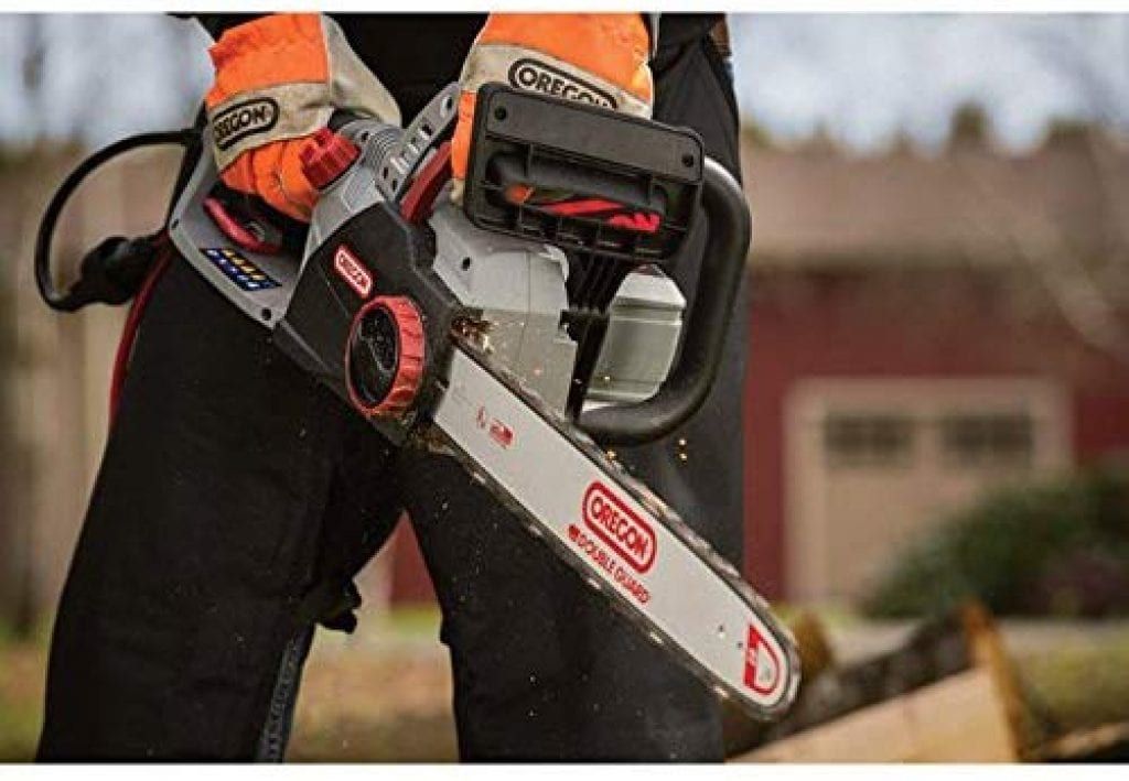 Oregon cs1500 corded electric saw - photo 2