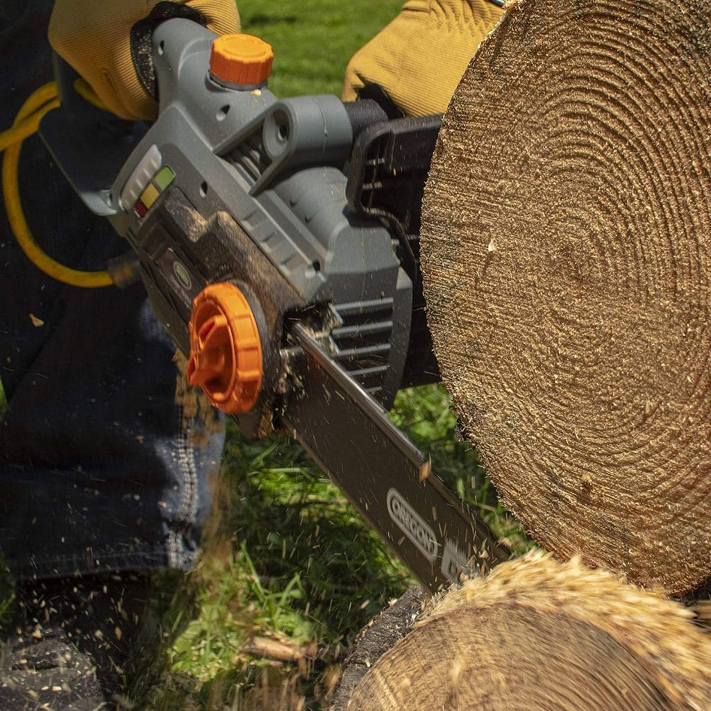Scotts cs34016s corded electric chainsaw - photo 2