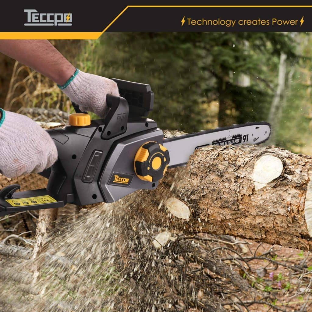 Teccpo electric chainsaw - photo 3