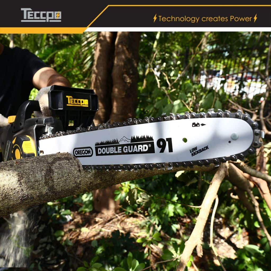 Teccpo electric chainsaw - photo 2