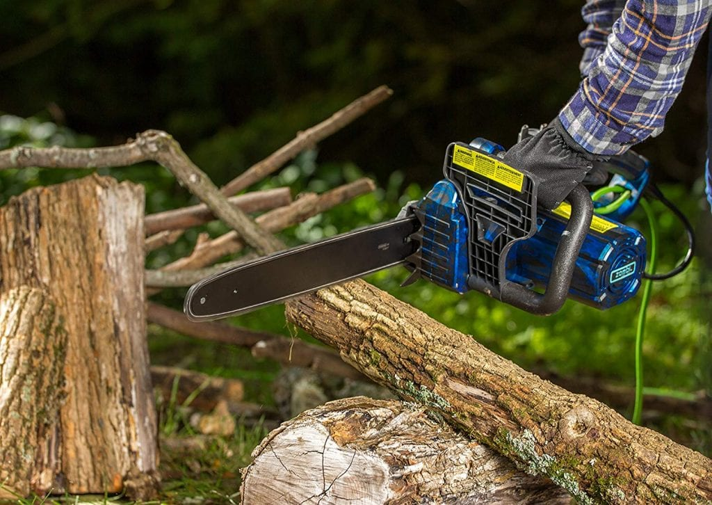 Zombi zcs12017 corded electric chainsaw - photo 3