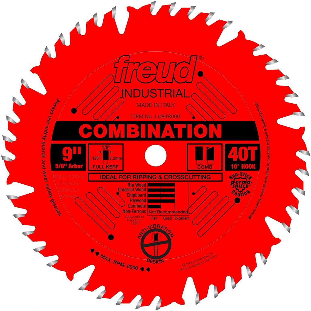 Freud combination blade - photo 1