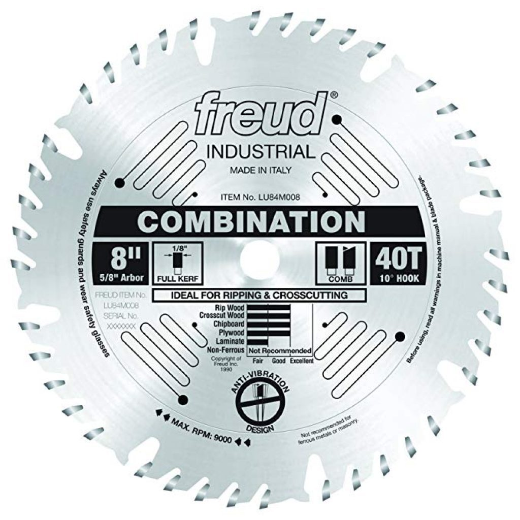 Freud combination blade - photo 2