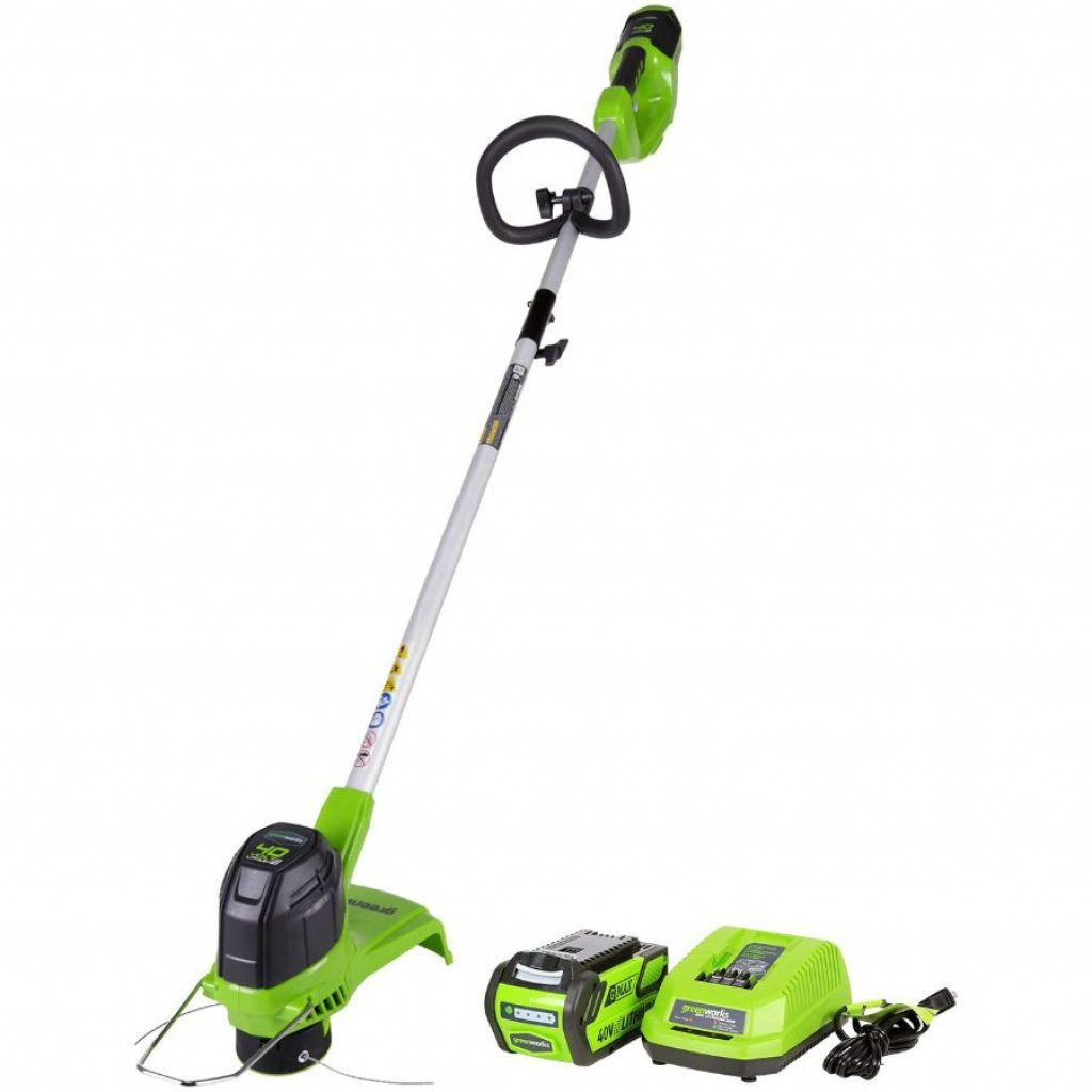 Greenworks cordless string trimmer - photo 3