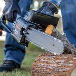 Remington Lightweight Corded Electric Chainsaw title image