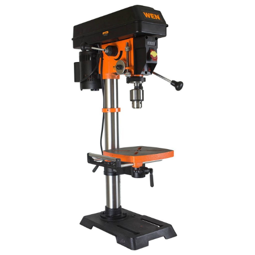 WEN-4214-12-Inch-Variable-Speed-Drill-PressOrange