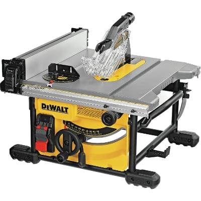 DEWALT Table Saw for Jobsite, Compact (DWE7485)