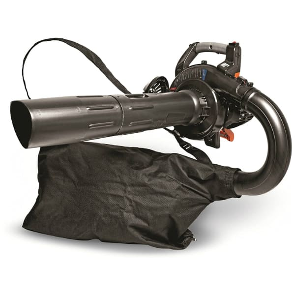 Gas Leaf Blower with Vacuum Accessory
