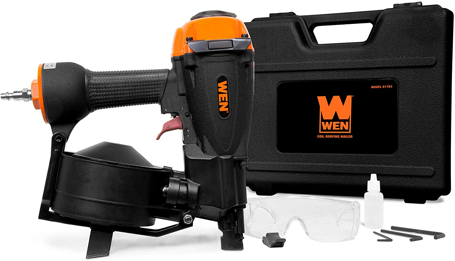 WEN Pneumatic Coil Roofing Nailer