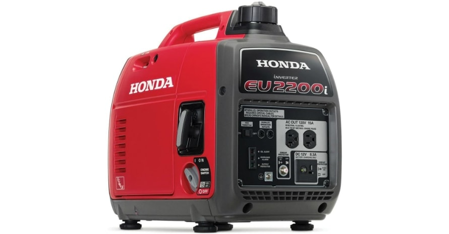 Honda EU2200i 2200-Watt 120-Volt Super Quiet