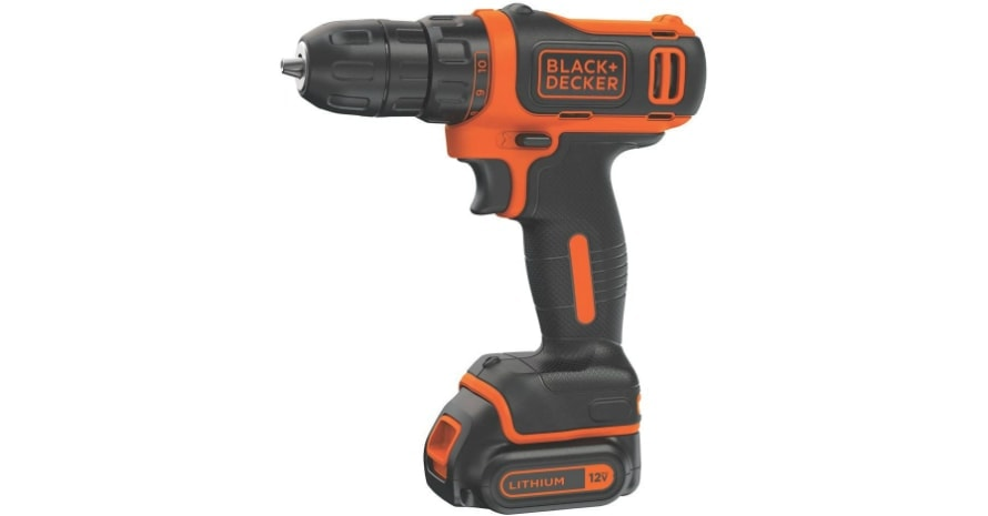 BLACKDECKER 12V DrillDriver BDCDD12C