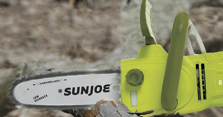 Sun Joe SWJ806E Pole Chain Saw Green