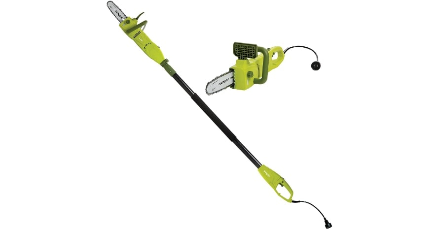 Sun Joe SWJ806E Pole Chain Saw