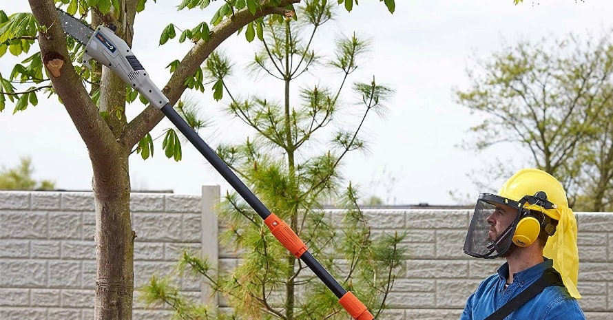 VonHaus 40V 8-inch Cordless Pole Saw