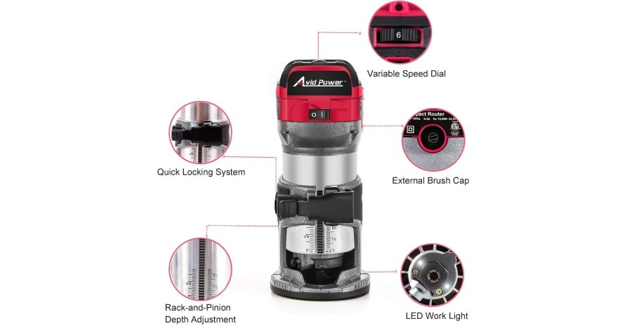 Avid Power wood router