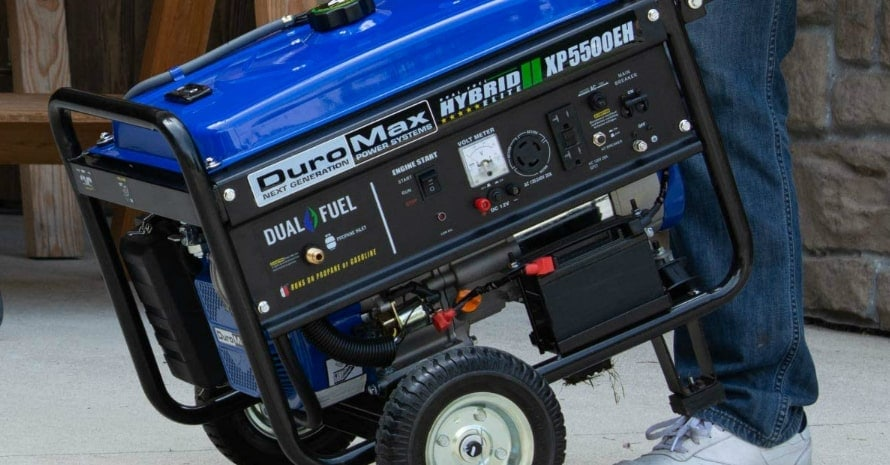 DuroMax XP5500EH Fuel Portable Generator