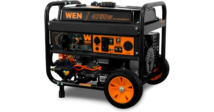 WEN DF475 4750-Watt Portable Generator
