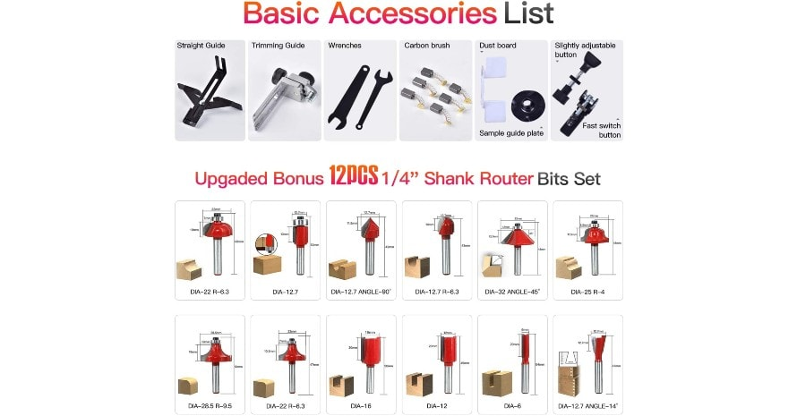 CtopoGo CT-370 accessories list