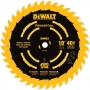 DEWALT DW7140PT 10-Inch 40 Tooth ATB Ripping and Crosscutting Saw Blade with 5/8-Inch Arbor and Tough Coat Finish