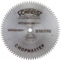Forrest CM12806115G Chopmaster 12-Inch 80 Tooth 4 PTS + 1 Flat 1/8-Inch Kerf Saw Blade with 1-Inch Arbor