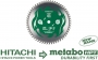 Metabo HPT 115435M 10* Miter Saw/Table Saw Blade, 60T Fine Finish, Large Micrograin Carbide Teeth, 5, 800 Max Rpm
