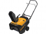 Poulan Pro 961840001 Electric Start 136cc Single Stage Snow Thrower, 21-inch