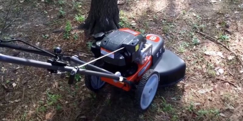 How to String a Walk-Behind Trimmer at Home